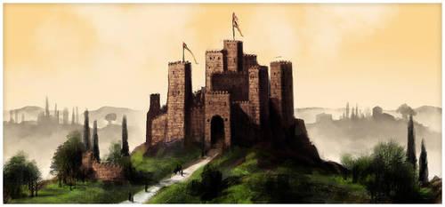 Tuscan Castle by DevJohnson