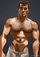 Henry Cavill Colour by Redpaint25