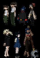 Random Characters by Miss-Sassafras