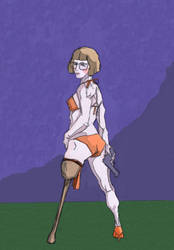 Velma - she'll fight to a Finnish by LondonJohnIII