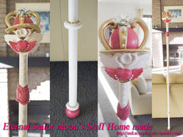 Eternal Sailor Moon's Staff by Mikacosplay