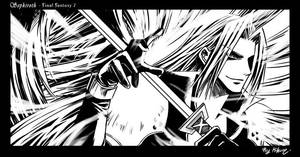 Sephiroth: Taste My Power by raykit