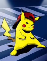 Pikachu Thug by icfiye