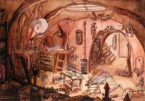 L'atelier de Geppetto by Fendouille