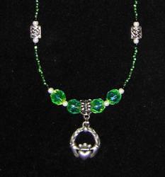 My Emerald Isle Necklace by clotilda-warhammer
