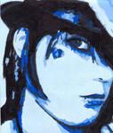 Blue girl 1 by AwezumArt