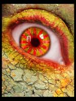 Orange Eye by Sphynxette