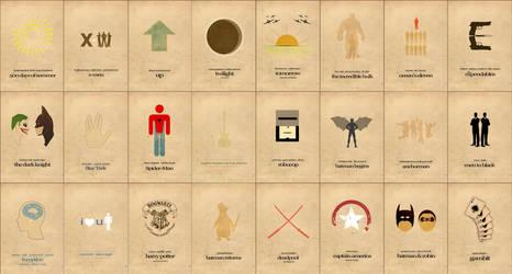 Minimalism Film Posters Art by Al-Pennyworth