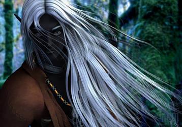 Honglath :: Seeking in the Forest by DrowElfMorwen