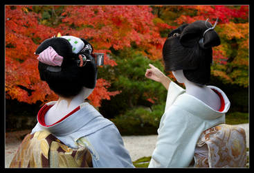 Autumn in Kyoto by DrowElfMorwen