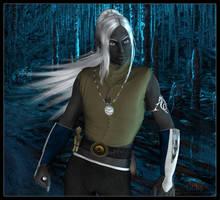 Honglath Freth :: Drow Mage (Reinvented) by DrowElfMorwen