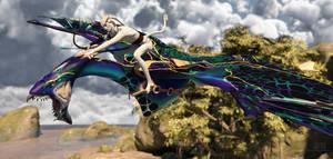 Aerial Hunter :: Part I by DrowElfMorwen