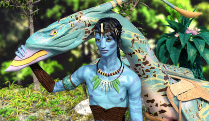 Na'vi and Ikran :: Bonded for Life :: Part II by DrowElfMorwen