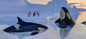 Antarctic Hunt by DrowElfMorwen