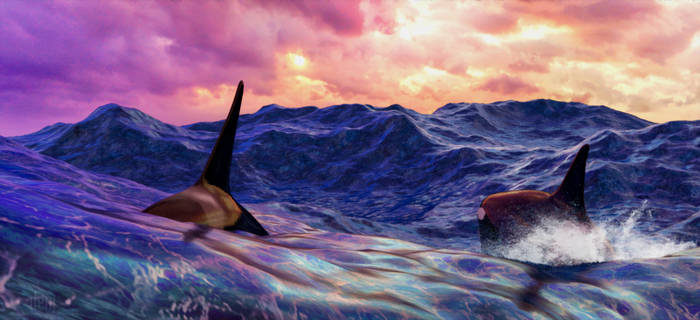 Morning High Tide by DrowElfMorwen