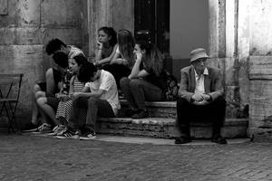 Postcard from Rome 22 by JACAC