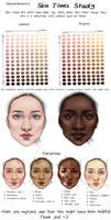 Skin Tones Study by MurphAinmire