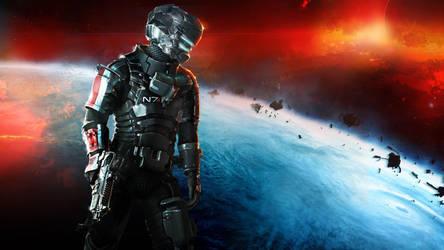 Dead Space 3  Armor N7 by gawrifort