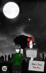 Don't Take This Risk - A Moonlit Walk by askDreamgazer