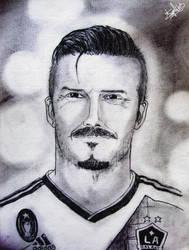 David Beckham by sozey