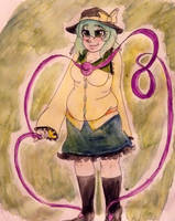 Request: Koishi Komeiji by Tetlow-Senpai
