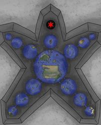 Map of Matoran Universe by MatoroTBS
