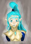 Poor little Eldar by MatoroTBS