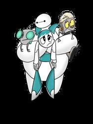 I Want a Robot Sitcom by SherbertBerryBear