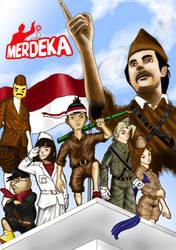 Merdeka di Hotel Oranje by countall