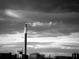 Industrial Skyline by b0ules