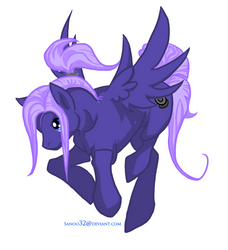 Future Trunks Pony by Sanoo32