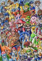 Super Smash Bros Brawl by mmishee