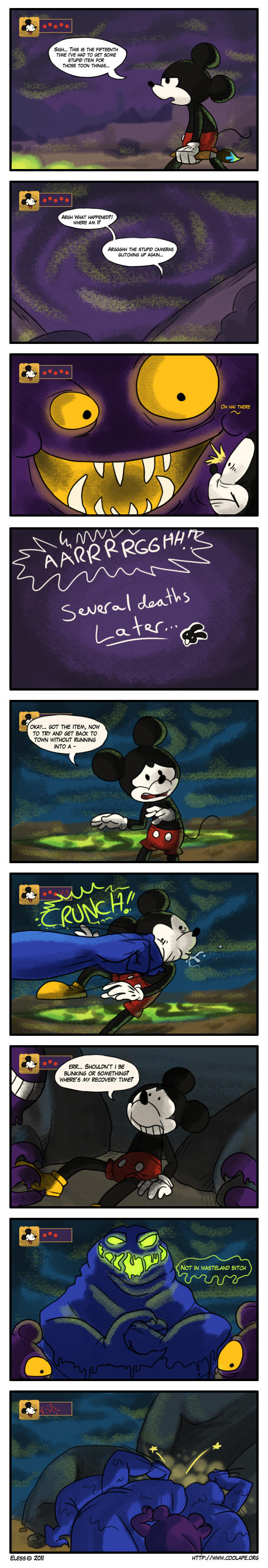 Comic - Epic mickey pt 1 by mmishee