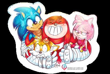 Sonic Boom by mmishee