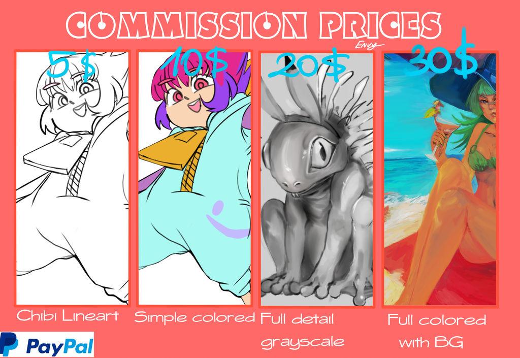 Commission Sheet by Toushiirou