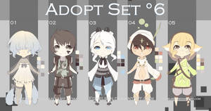-ADOPT SET'6- OPEN 4/5 by EdhelSen
