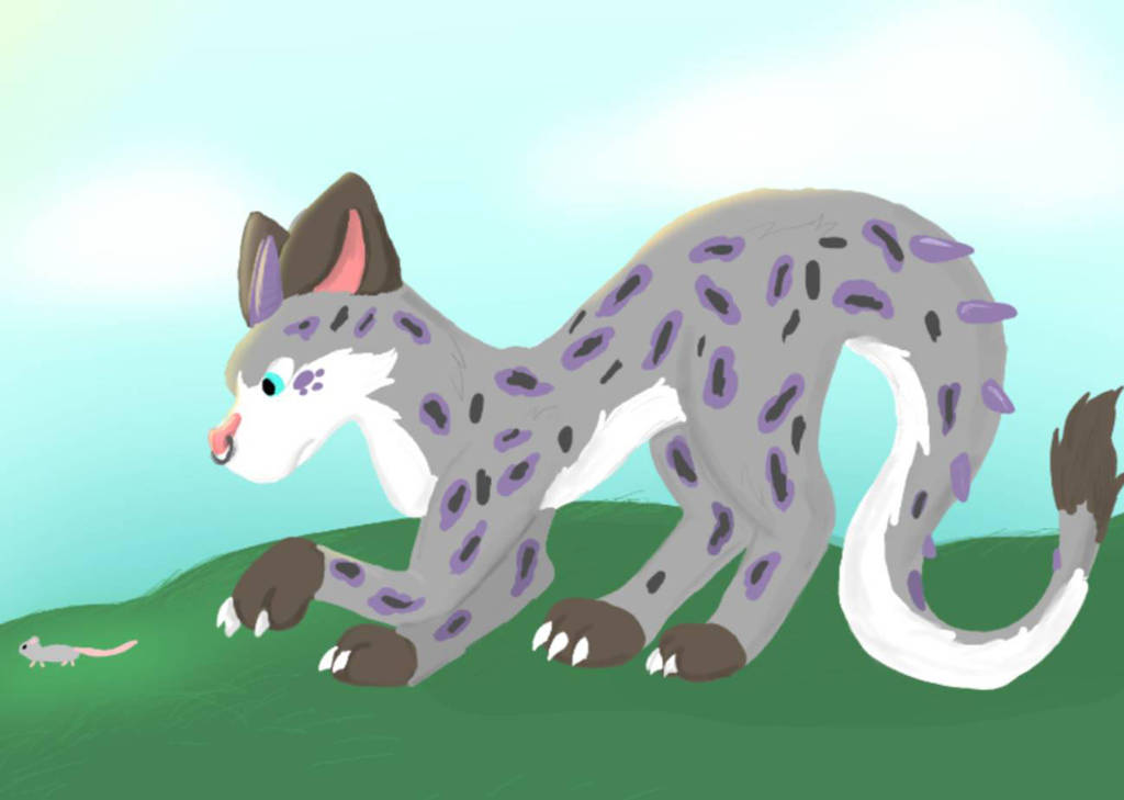 lineless drawing by MarlintheDragon