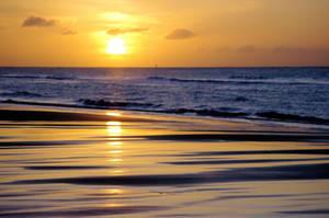 Beach Dawn 5 by Grunvald