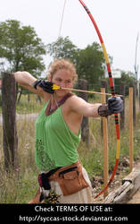 Female Archer 6 by syccas-stock