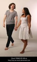 Walking Couple 6 by syccas-stock