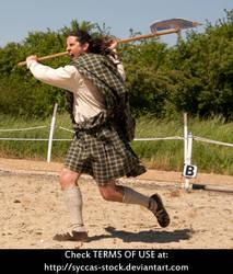 Highlander Attacks 8 by syccas-stock