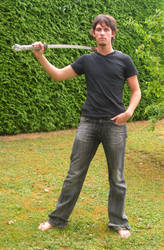 swordsman example by syccas-stock