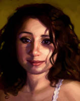 Self-Portrait by fabiolagarza