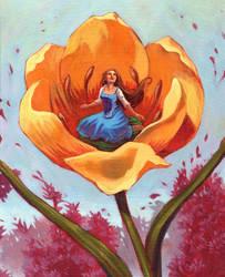 Thumbelina- Spring by fabiolagarza