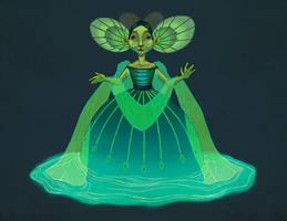 The Water Spirit by fabiolagarza