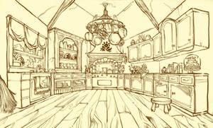 Kitchen by fabiolagarza