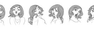 Luci Face Series by fabiolagarza