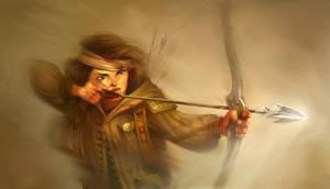 Katniss by fabiolagarza