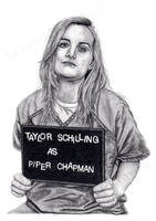 Taylor Schilling as Piper Chapman by Lavender-Crayon