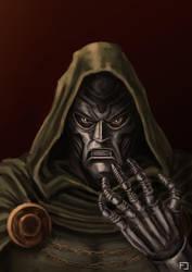 Doctor Doom by fedelacelli